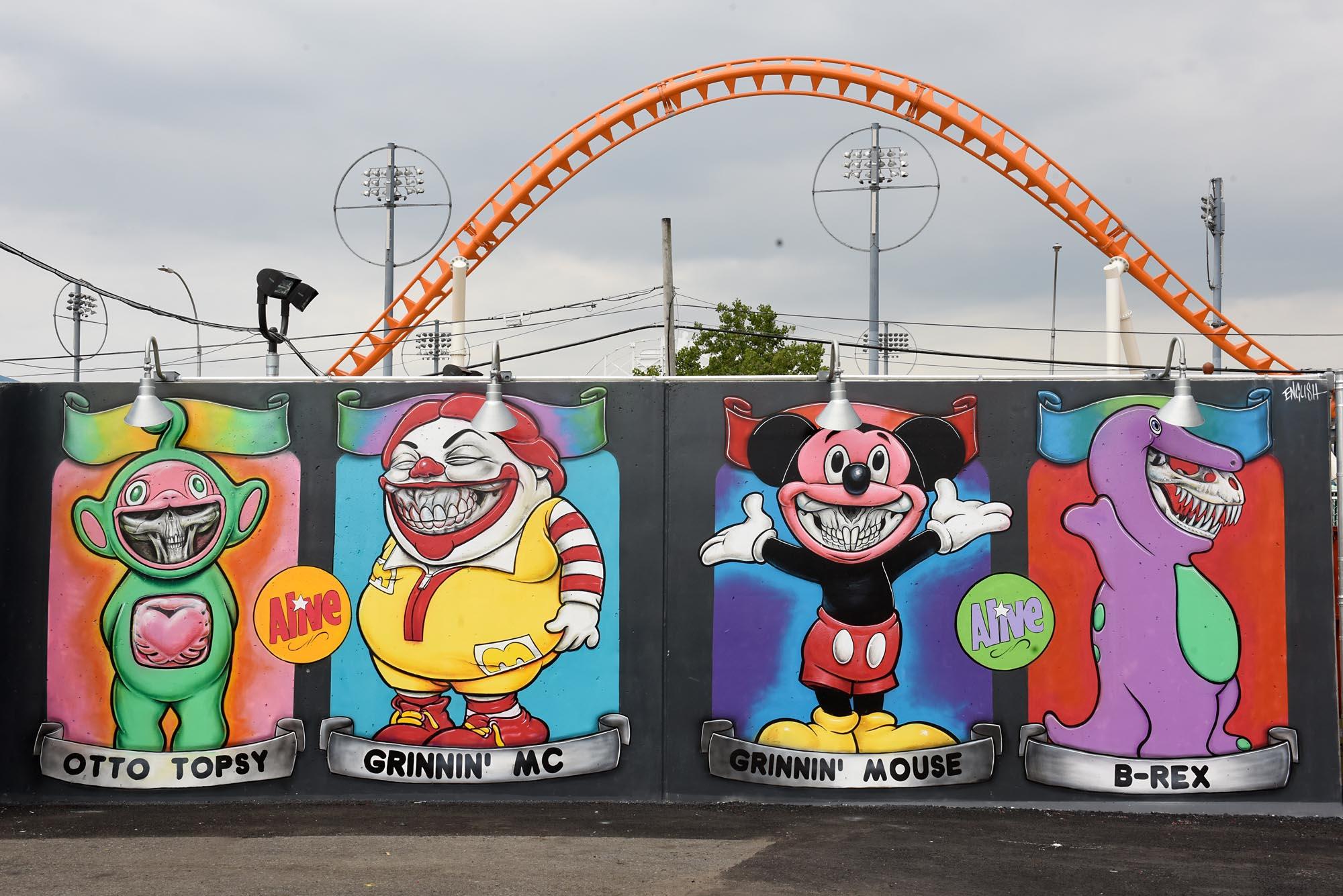 Art Walls coney art walls | ron english