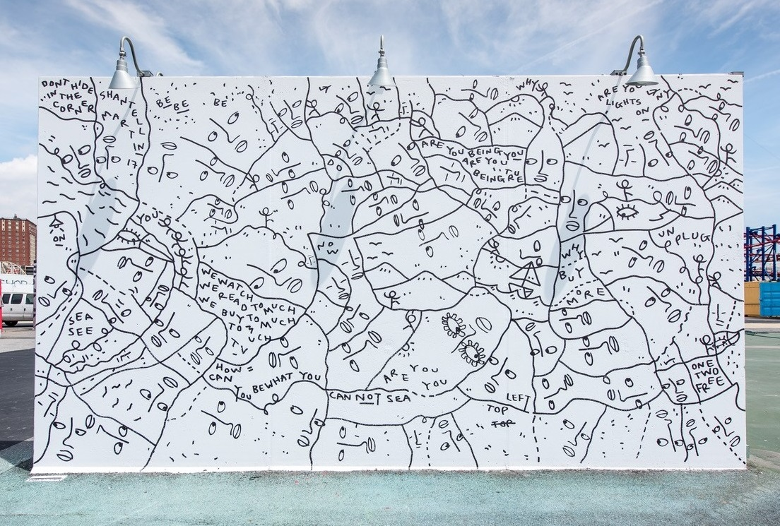 Coney Art Walls | Shantell Martin The Art Of Getting By Drawings