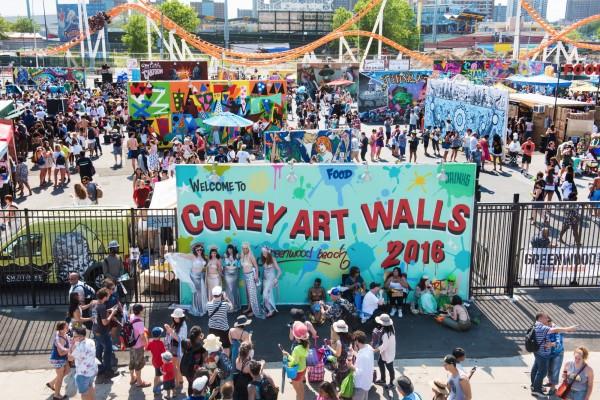 Art Walls coney art walls | photo/video gallery